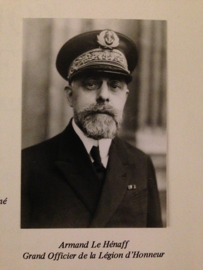 Contrôleur Général Marine LE HENAFF