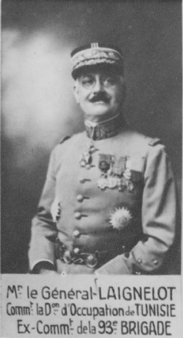 Général de Corps d'Armée LAIGNELOT
