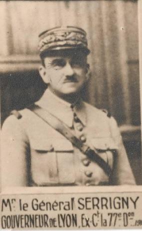 Général de Corps d'Armée SERRIGNY
