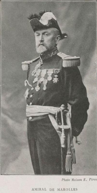Vice Amiral DE MAROLLES