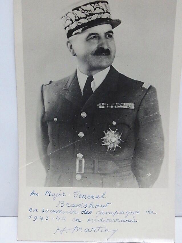Général de Corps d'Armée MARTIN